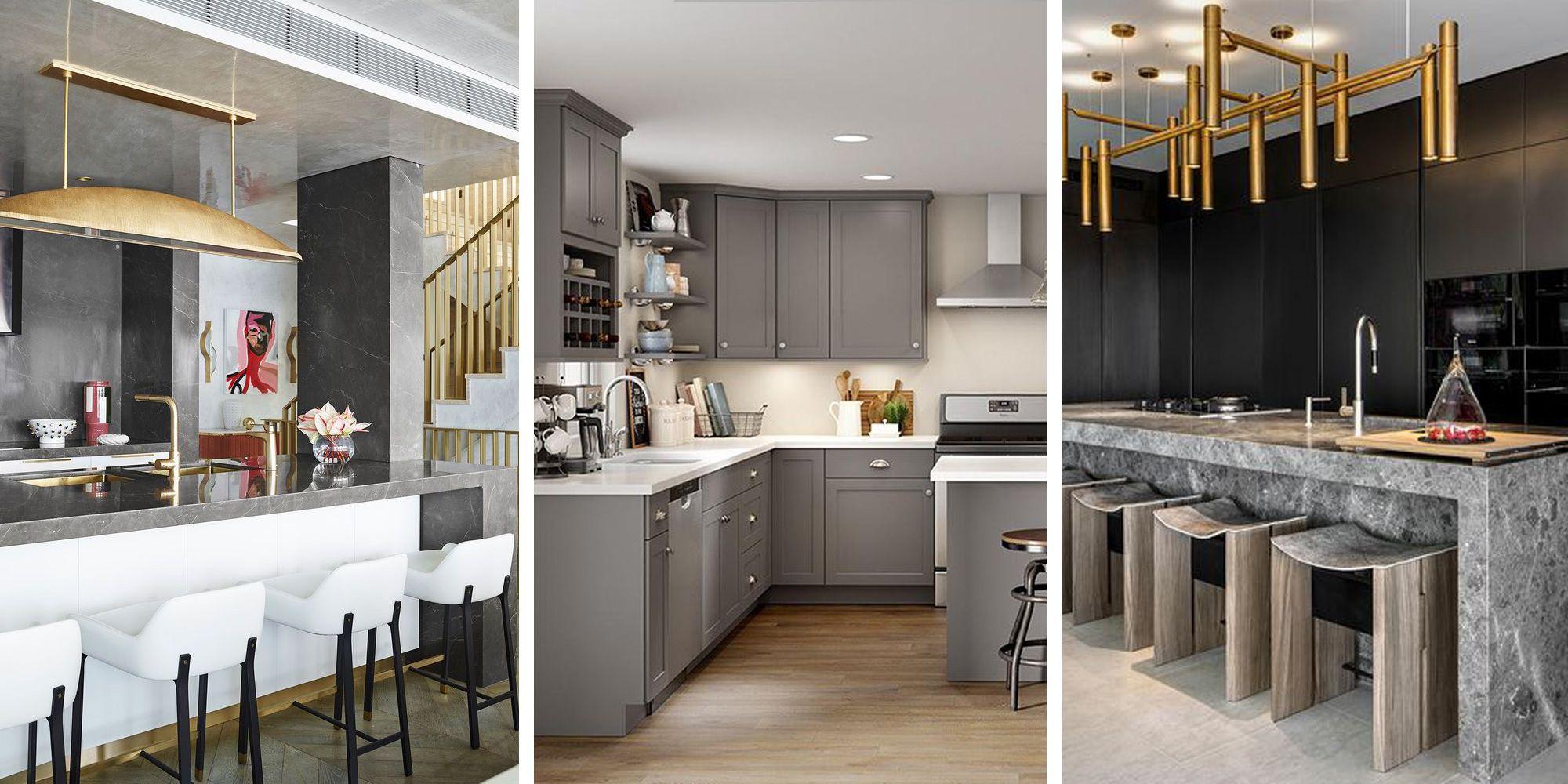 Inspiración: Una cocina gris