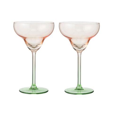2-pak dip dye cocktailglazen