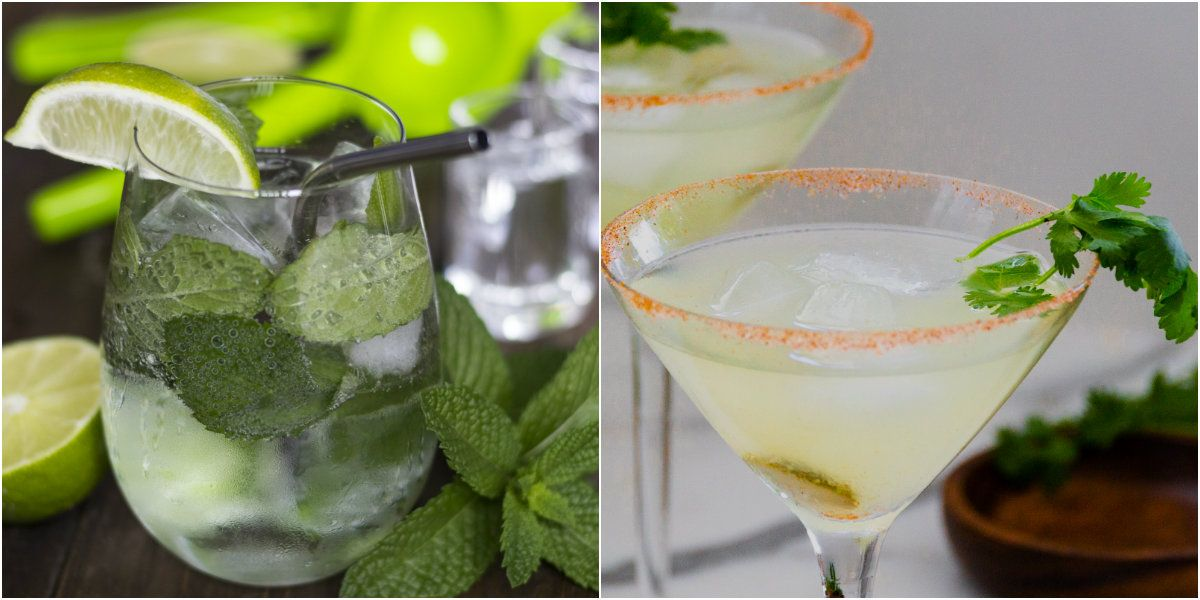 5 Low-Carb Cocktails You Can Drink on a Diet