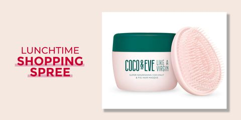 Lunchtime shopping spree - Coco & Eve hair mask breast cancer awareness