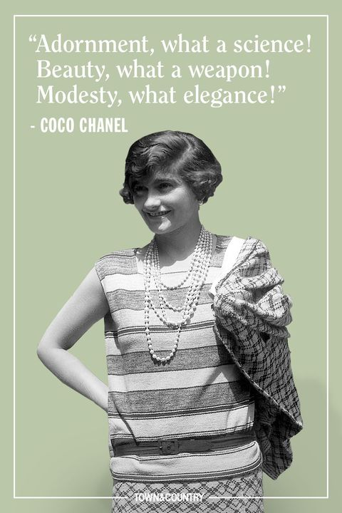 25 Coco Chanel Quotes Every Woman Should Live By Best Coco Chanel Sayings