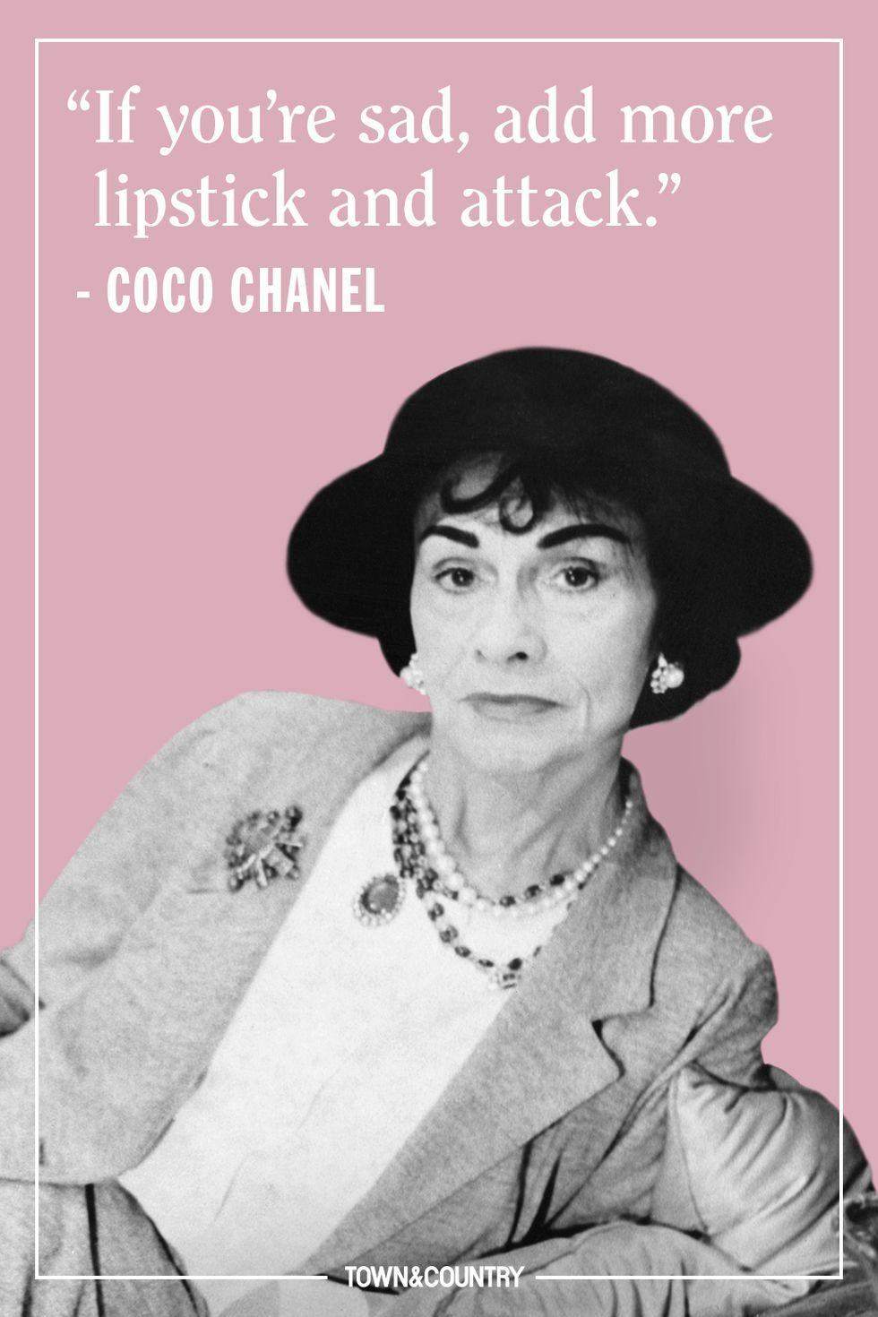 25 Coco Chanel Quotes Every Woman Should Live By - Best Coco Chanel