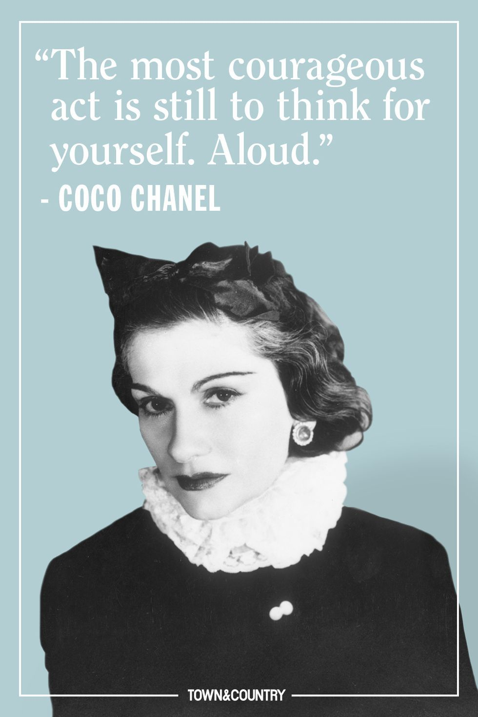 142ce32c10 25 Coco Chanel Quotes Every Woman Should Live By - Best Coco Chanel Sayings