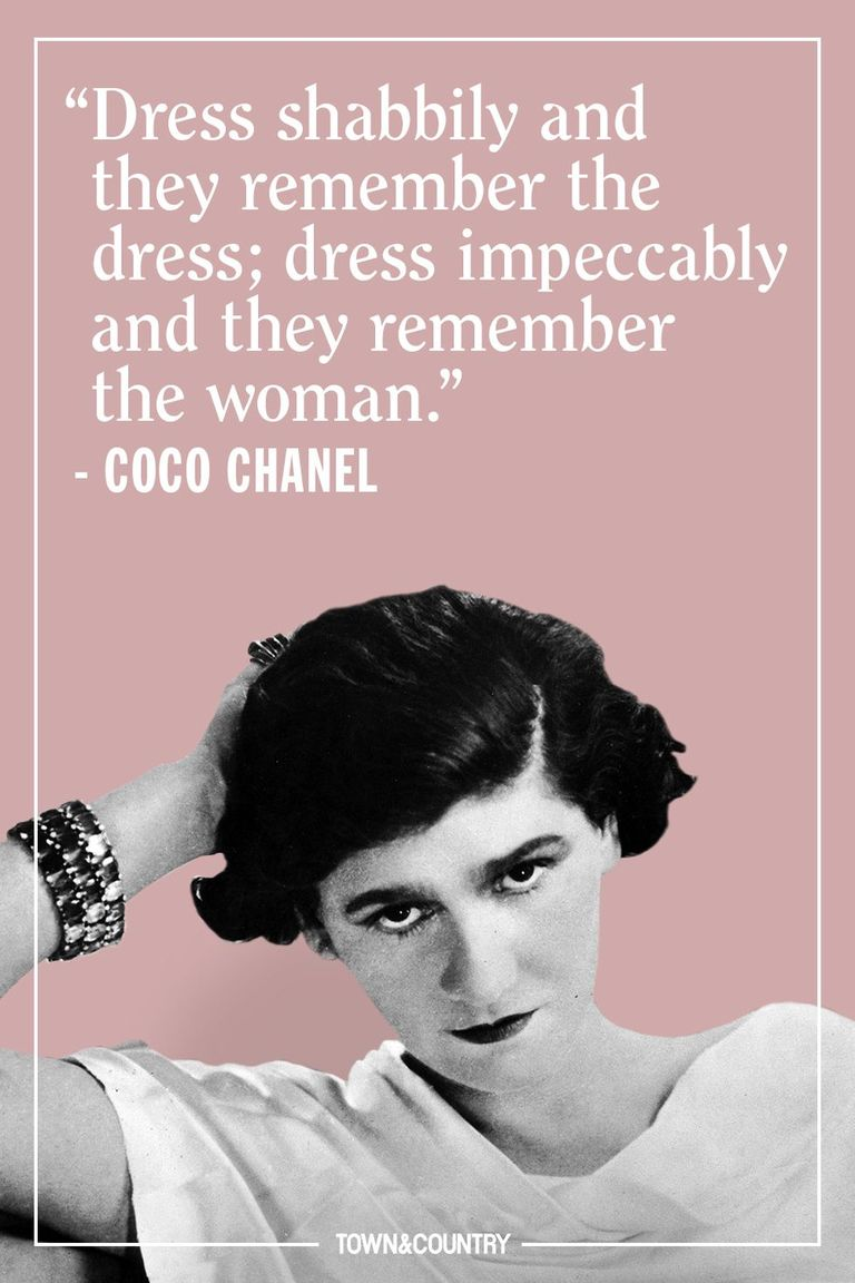 Coco Chanel Quotes On Fashion And Style