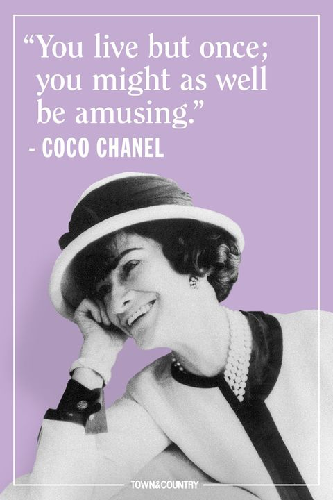 Chanel Quotes Extraordinary 48 Coco Chanel Quotes Every Woman Should Live By Best Coco Chanel