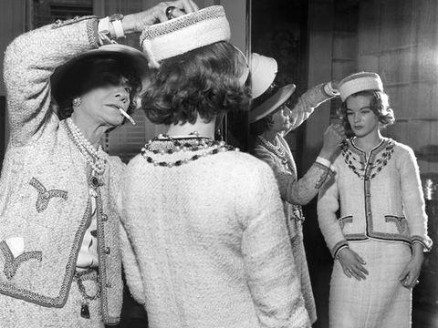 Gabrielle Coco Chanel e Romy Schneider