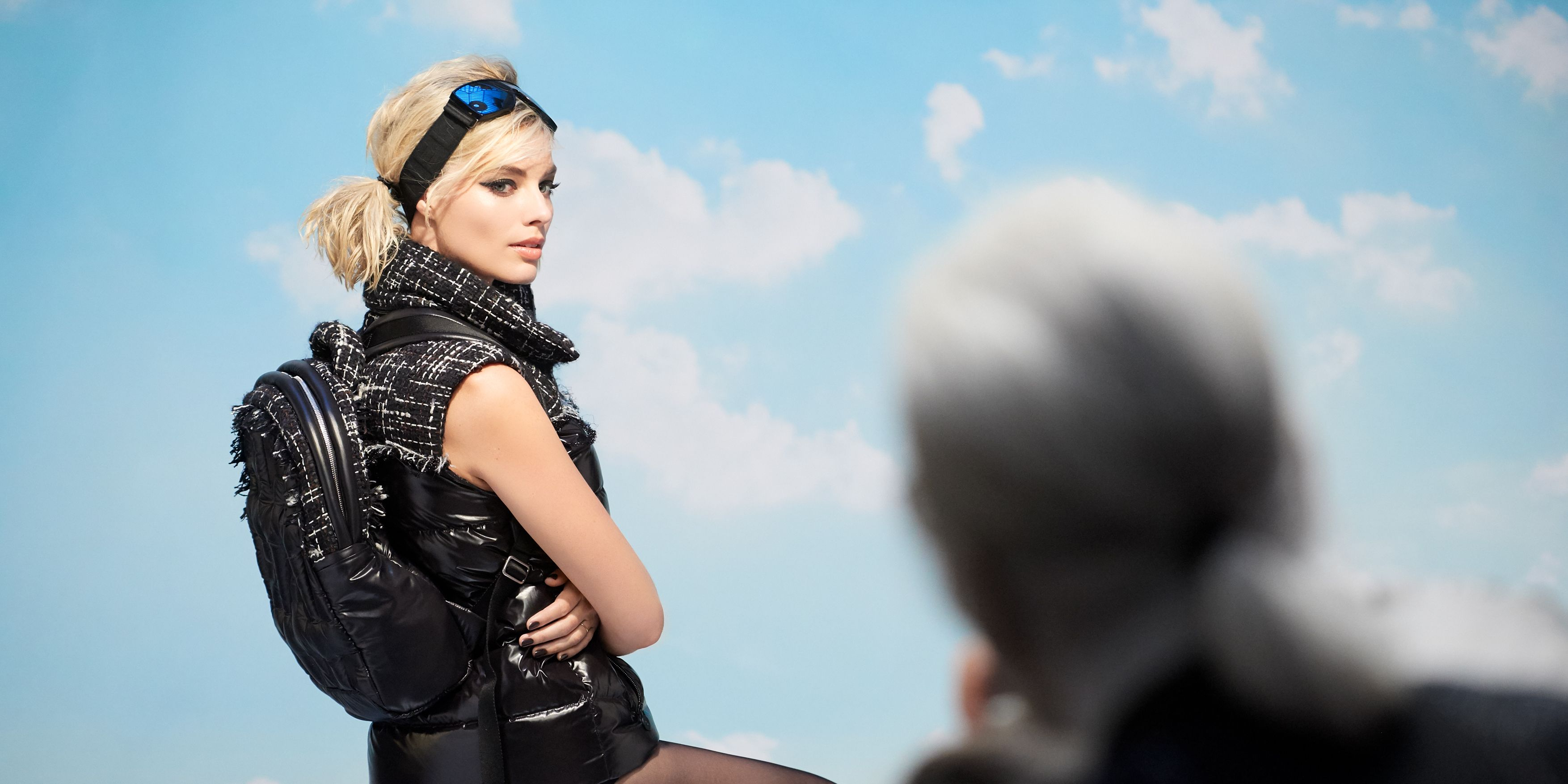 Margot Robbie's first Chanel campaign - behind the scenes