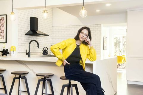 coco rocha house tour