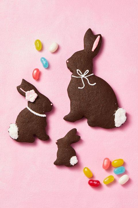 cocoa bunny cookies