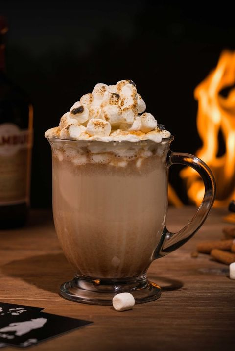 Hot Chocolate Orange Alcoholic Drink