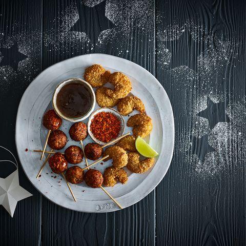 impressive Christmas canapés