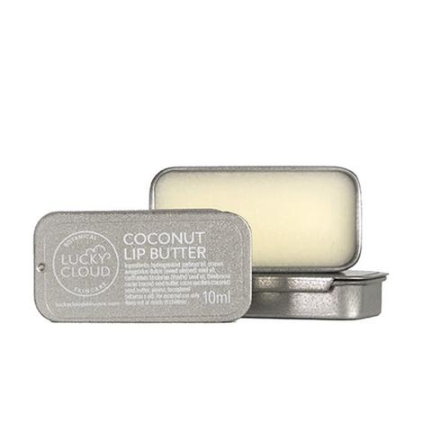 lucky cloud skincare coconut lip butter