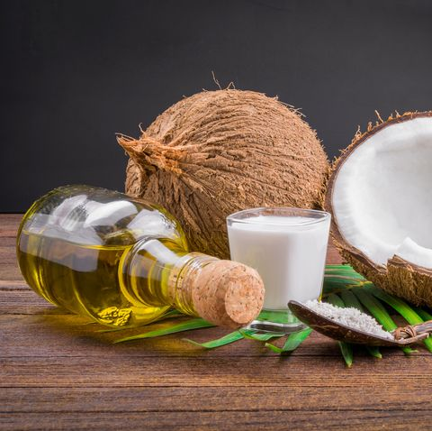 Coconut milk and coconut oil