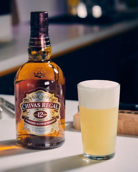 un recetas fácil y original de cóctel con whisky
