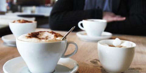 Coffee cup, Cup, Serveware, Drinkware, Dishware, Teacup, Tableware, Porcelain, Café, Ceramic,
