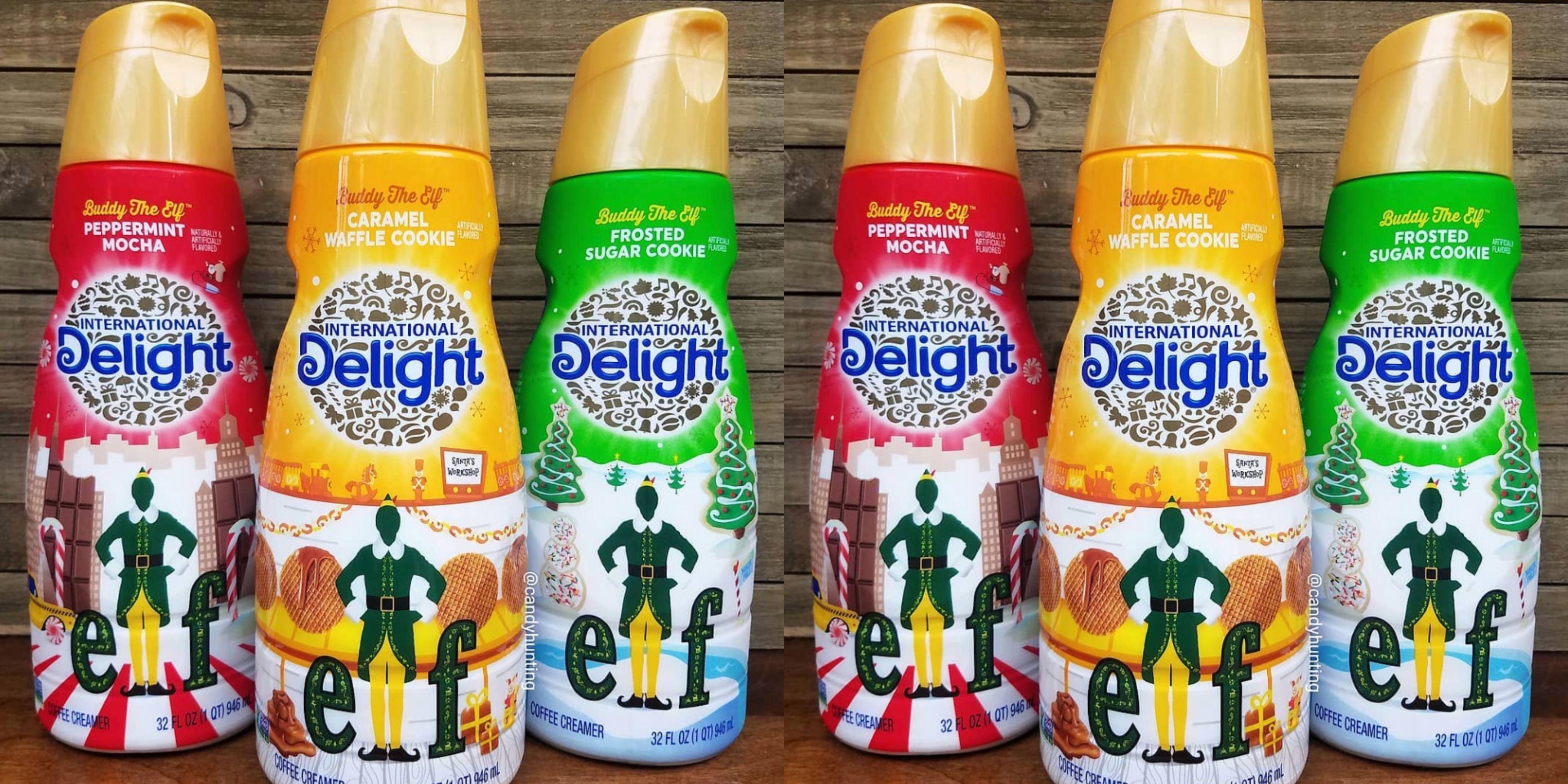 International Delight Has New Elf Inspired Coffee Creamers