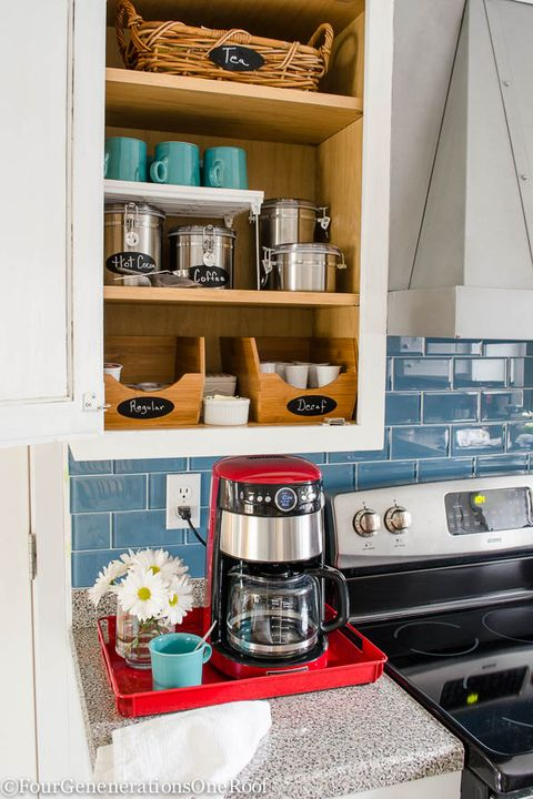 15 Coffee Bar Ideas For Your Home Diy Ideas For Coffee Stations In Your Kitchen