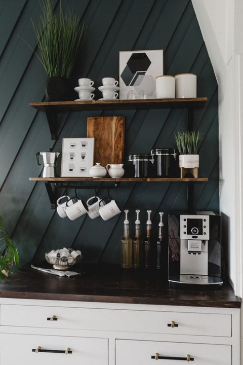 20 Coffee Bar Ideas For Your Home Diy Ideas For Coffee Stations In Your Kitchen