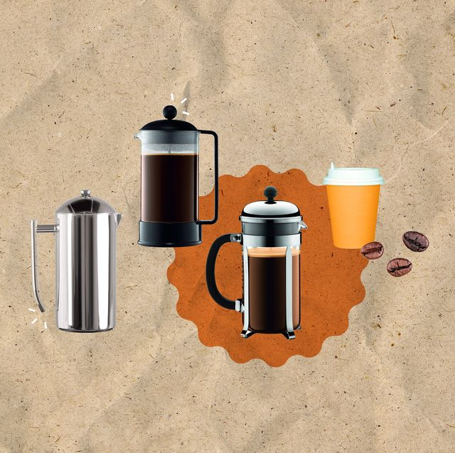 french press collage