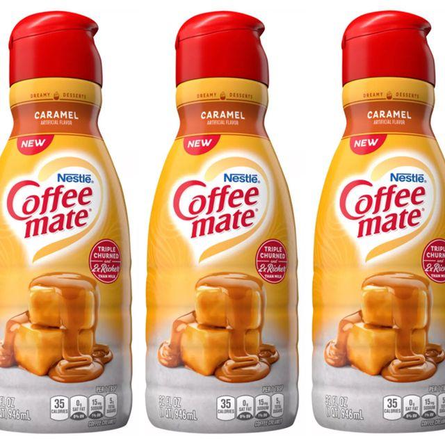 coffee mate caramel liquid creamer