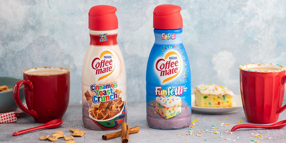 Coffee Mate Just Unveiled Cinnamon Toast Crunch and Funfetti Creamers