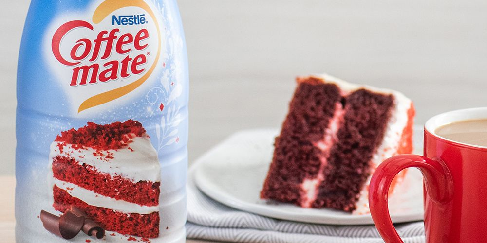 Coffee Mate Is Launching A Red Velvet Creamer, So You Can Have Your Cake And Drink It Too
