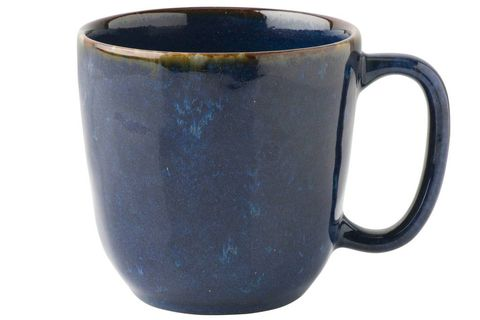Mug, Cobalt blue, earthenware, Blue, Cup, Drinkware, Pottery, Tableware, Ceramic, Cup,