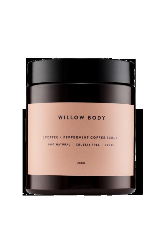 Willow Body Coffee + Peppermint Coffee Scrub