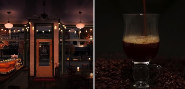 coffee shop asmr