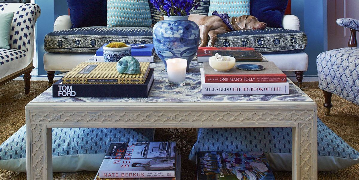 32 Best Coffee Table Styling Ideas - How To Decorate A Square Or ...
