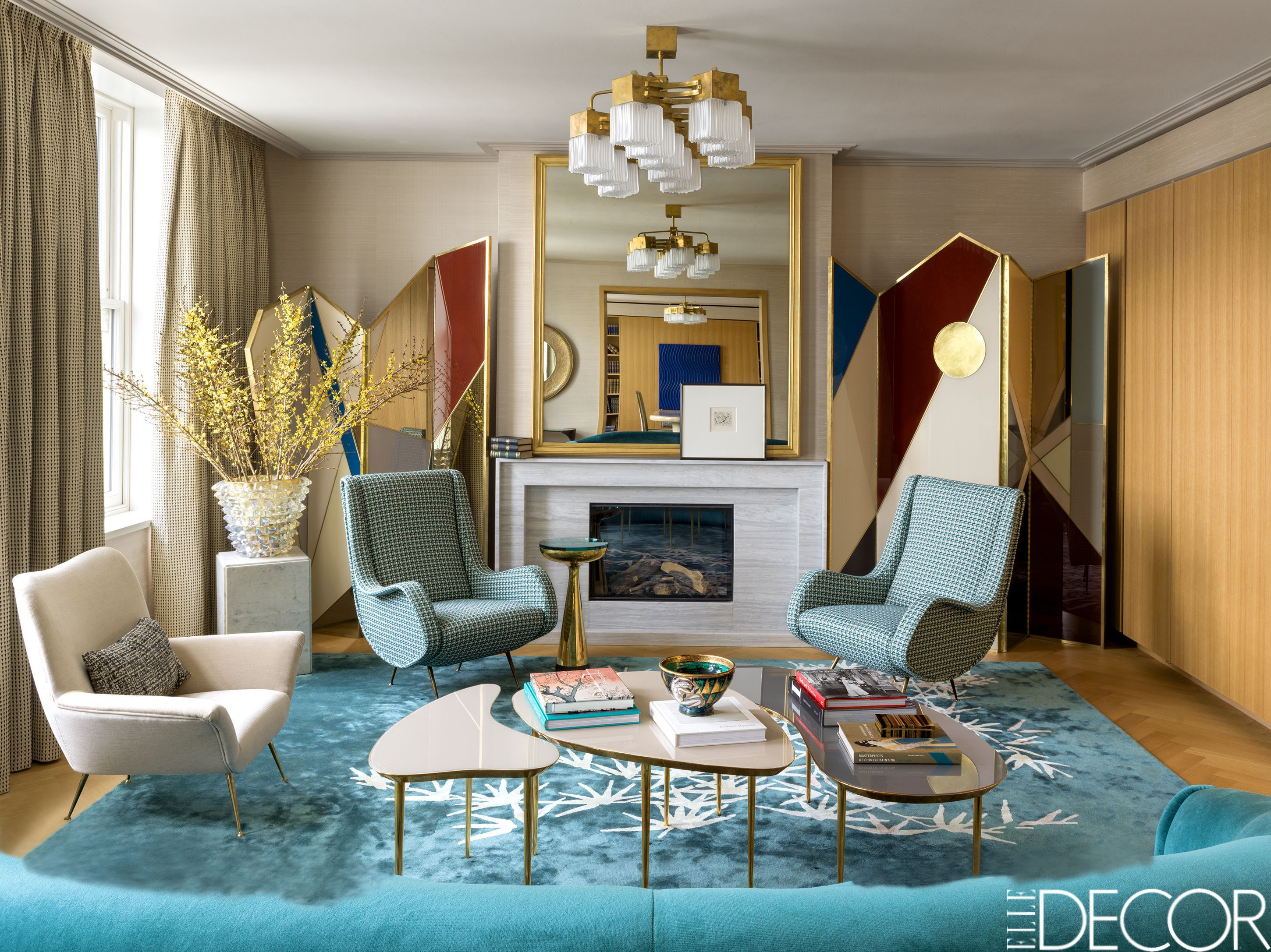 35 Best Coffee Table Styling Ideas How To Decorate A Rh Elledecor Com Decorating