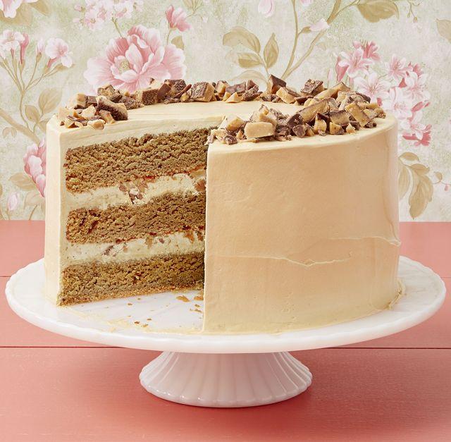 coffee toffee crunch cake