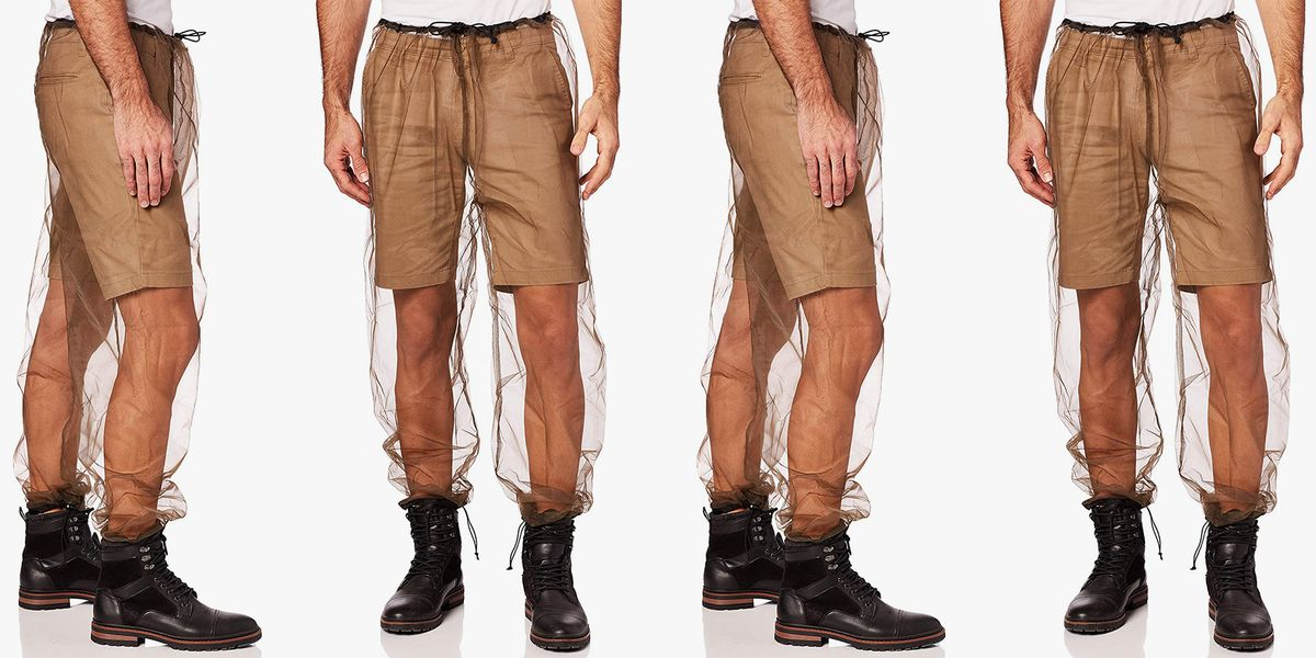 These Mesh Pants Slip Over Your Shorts to Keep the Mosquitos Away This Summer