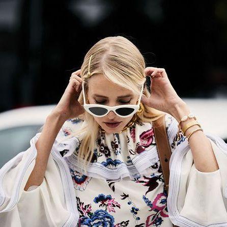 Eyewear, Sunglasses, Glasses, Street fashion, Cool, Blond, Fashion, Ear, Lip, Fashion accessory,