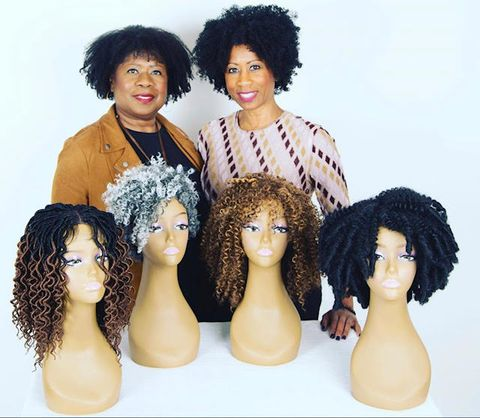 black women with wig company