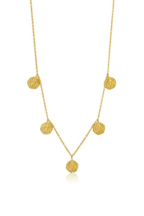 Ania Haie chain medallion necklace -affordable jewellery