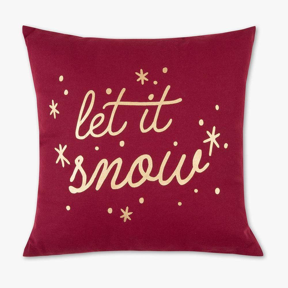 Cojín Navidad: Let it Snow