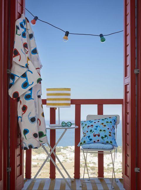 Funda de cojín de la nueva colección de verano de IKEA 2019