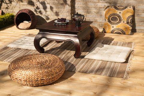 Furniture, Table, Floor, Coffee table, Laminate flooring, Wood flooring, Interior design, Flooring, Tile, Room,