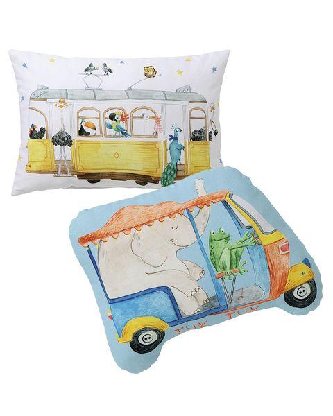 cojines divertidos para dormitorio infantil