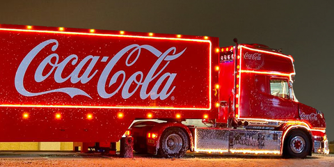 you can now stay a night in the coca cola christmas truck - Coca Cola Christmas Commercial