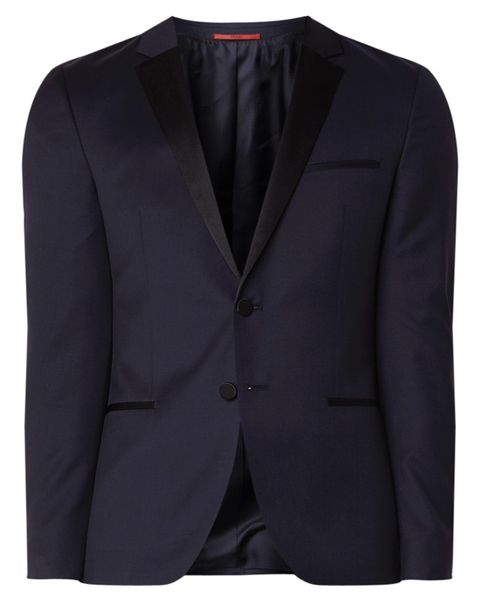 Clothing, Outerwear, Blazer, Suit, Jacket, Formal wear, Button, Pocket, Sleeve, Top,