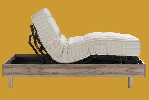 colchón duna y somier articulado bento, de la colección mot