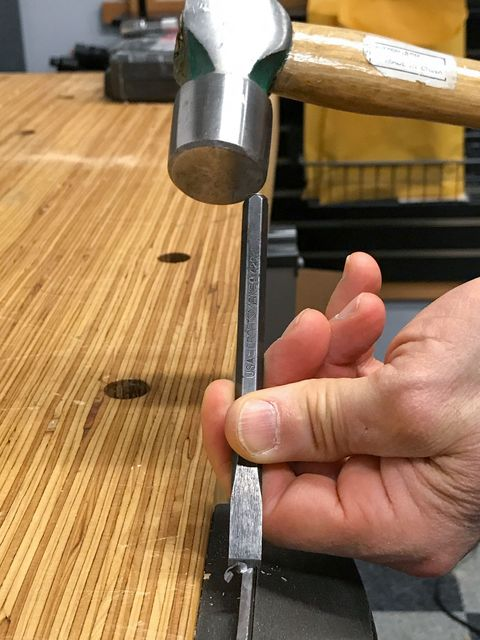 How to Use a Cold Chisel — Cutting Metal With a Cold Chisel