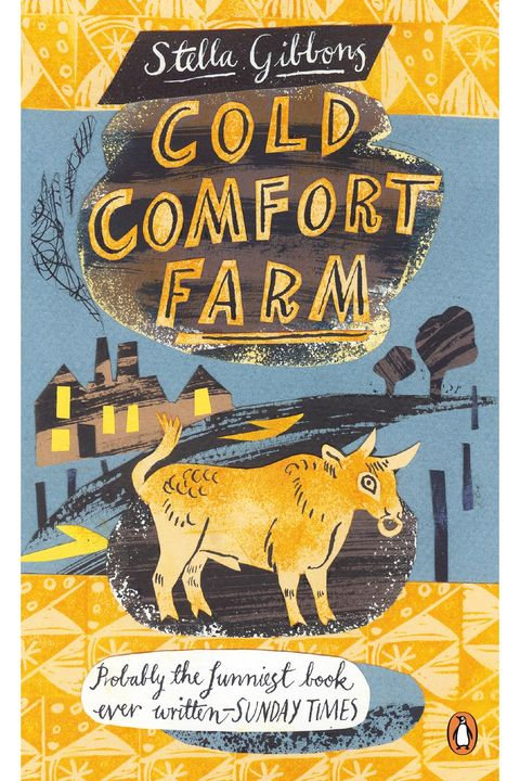 Book cover of 'Cold Comfort Farm' by Stella Gibbons