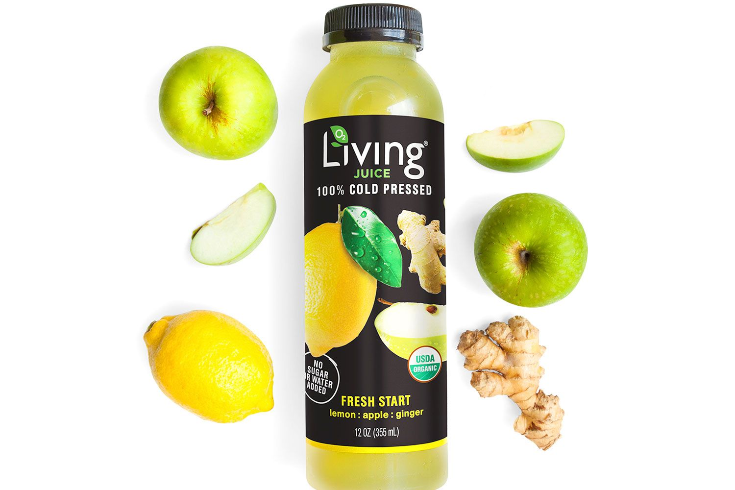 World According to Gayle January 2019 - Living Juice as seen in O, the Oprah Magazine