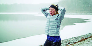 is running in the cold damaging your lungs?