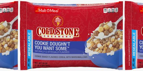 Incredible Cold Stone Has A New Cookie Dough Cereal Thats Filled With Birthday Cards Printable Trancafe Filternl