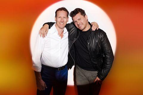 X Factor: Celebrity, Brendan Cole and Jeremy Edwards