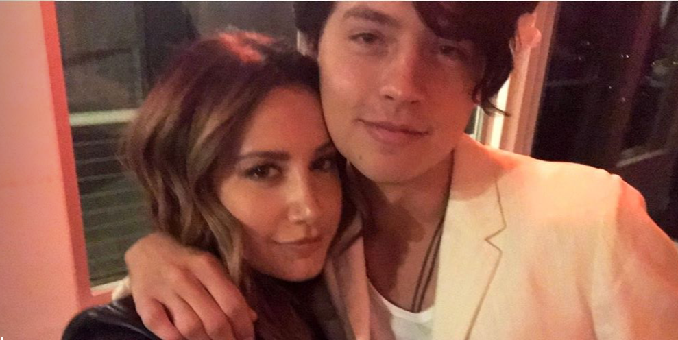 """Cole Sprouse and Ashley Tisdale Had a Mini """"Suite Life"""" Reunion"""